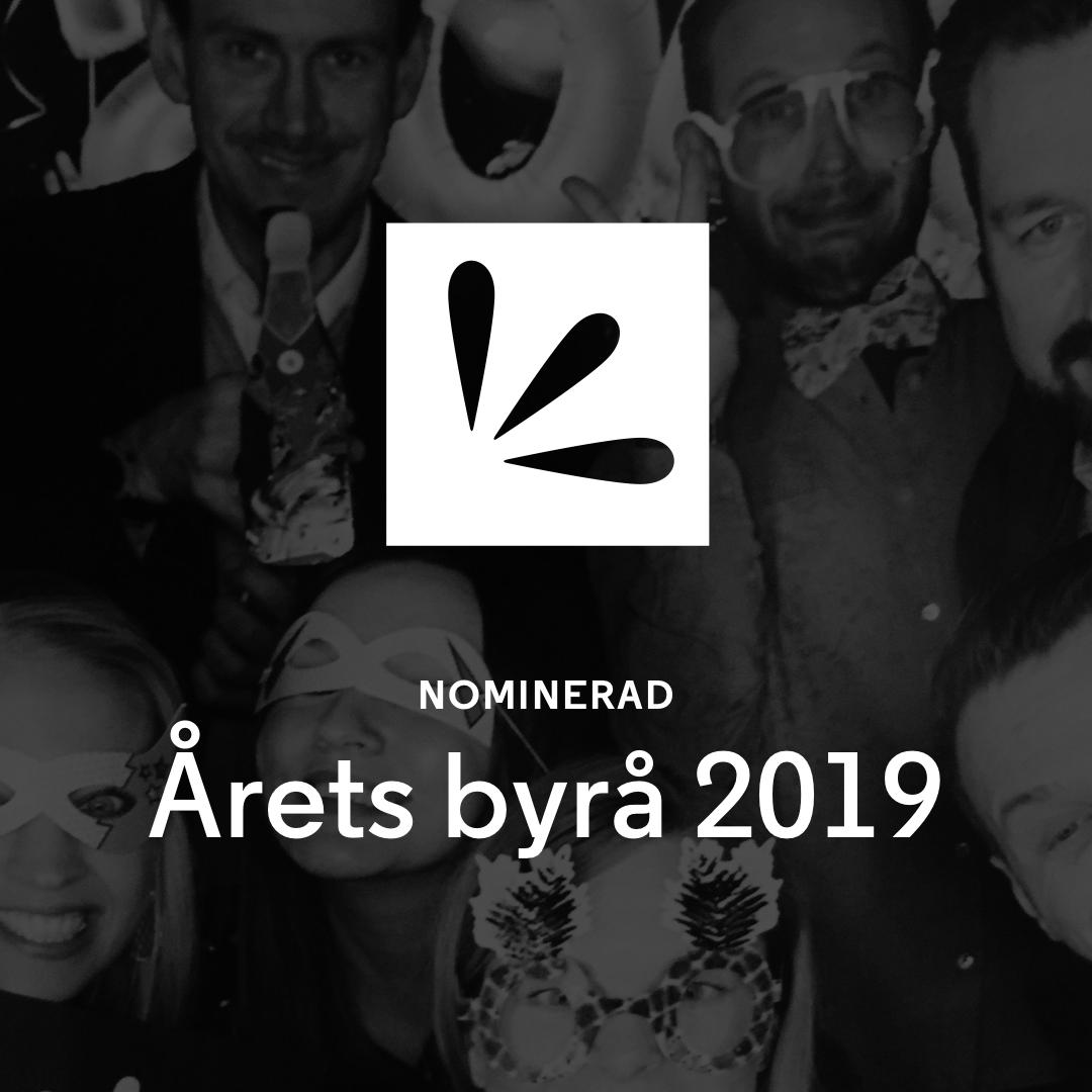 Årets Byrå 2019